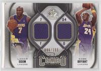 Lamar Odom, Kobe Bryant #/155