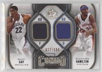 Rudy Gay, Richard Hamilton #/155