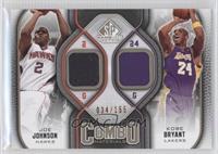 Joe Johnson, Kobe Bryant #34/155