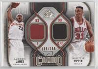 acbcc2498 2009-10 SP Game Used - Combo Materials - Level 1 Basketball Cards