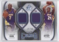 Lamar Odom, Kobe Bryant /50