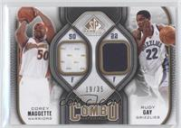 Corey Maggette, Rudy Gay /35