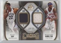 Rudy Gay, Richard Hamilton #/35