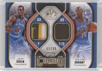 Jeff Green, Kevin Durant /99
