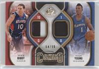 Mike Bibby, Nick Young #/99