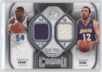 Vlade Divac, Horace Grant #/499