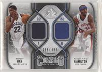 Rudy Gay, Richard Hamilton #/499