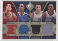 Ryan Anderson, Courtney Lee, George Hill, Darrell Arthur #/125