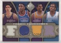 Isiah Thomas, Chris Paul, John Stockton, Magic Johnson #/125