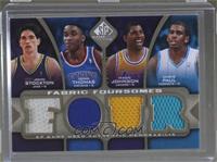 Isiah Thomas, Chris Paul, John Stockton, Magic Johnson /125