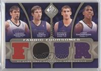 Andres Nocioni, Beno Udrih, Spencer Hawes, Jason Thompson /125