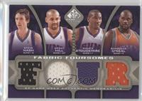 Amare Stoudemire, Steve Nash, Grant Hill, Shaquille O'Neal #/125
