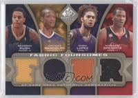 Brandon Rush, Anthony Randolph, Robin Lopez, Marreese Speights /125