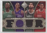 Kevin Garnett, Kobe Bryant, Tim Duncan, Scottie Pippen /50
