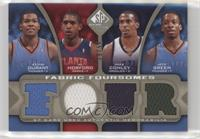 Kevin Durant, Jeff Green, Al Horford, Mike Conley #/50