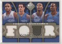 Jameer Nelson, J.J. Redick, Rashard Lewis, Dwight Howard [Good to VG&…