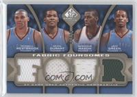 Russell Westbrook, Kevin Durant, Desmond Mason, Jeff Green /50