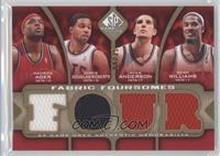 Maurice Ager, Chris Douglas-Roberts, Sean Williams, Ryan Anderson /35