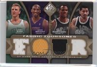 Larry Bird, Kobe Bryant, George Gervin, David Robinson /35