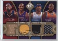 Lebron James, Kobe Bryant, Allen Iverson, Shaquille O'Neal /35
