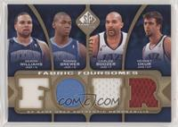 Deron Williams, Ronnie Brewer, Carlos Boozer, Mehmet Okur #/35