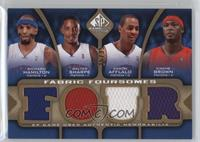 Richard Hamilton, Walter Sharpe, Arron Afflalo, Kwame Brown /35