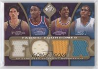 Isiah Thomas, Chris Paul, John Stockton, Magic Johnson #/35