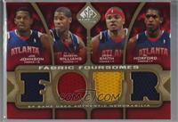 Joe Johnson, Marvin Williams, Josh Smith, Al Horford [Noted] #/35
