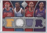 Josh Smith, Desmond Mason, Vince Carter, Kobe Bryant #/199