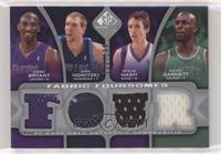 Kobe Bryant, Dirk Nowitzki, Steve Nash, Kevin Garnett #/199
