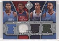Kevin Durant, Jeff Green, Al Horford, Mike Conley #/199