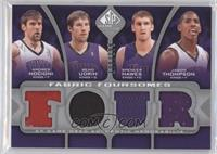 Andres Nocioni, Beno Udrih, Spencer Hawes, Jason Thompson /199