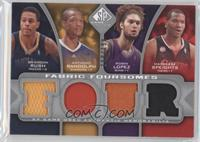 Brandon Rush, Anthony Randolph, Robin Lopez, Marreese Speights /199