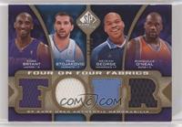 Kobe Bryant, Peja Stojakovic, Devean George, Shaquille O'Neal, Jason Kidd, Keny…