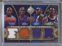 Shaquille O'Neal, Kobe Bryant, David Robinson, Horace Grant, Allen Iverson, Dik…