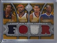 Monta Ellis, Corey Maggette, Brandon Wright, Anthony Randolph, Steve Nash, Alan…