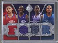 Eric Gordon, Kobe Bryant, Jason Richardson, Randy Foye, Brandon Roy, Ronnie Bre…