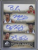 Brandon Roy, Mike Conley, O.J. Mayo, Derrick Rose /50