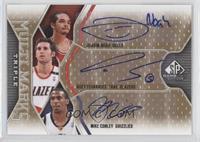 Joakim Noah, Rudy Fernandez, Mike Conley /100