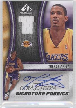 2009-10 SP Game Used - Signature Fabrics - [Autographed] #SF-TA - Trevor Ariza