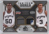 George Hill, David Robinson /10