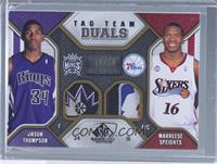 Jason Thompson, Marreese Speights /10