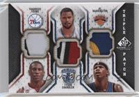 Thaddeus Young, Tyson Chandler, Al Harrington /60