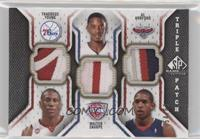 Thaddeus Young, Walter Sharpe, Al Horford /60