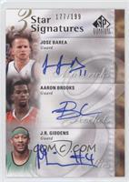 J.J. Barea, Aaron Brooks, J.R. Giddens /199