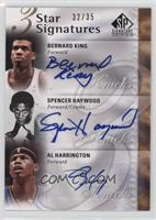 Bernard King, Spencer Haywood, Al Harrington /35
