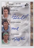 George Hill, Morris Almond, Rajon Rondo /99