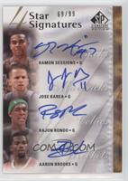 Ramon Sessions, Jose Barea, Rajon Rondo, Aaron Brooks /99