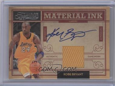2009-10 Timeless Treasures - Material Ink #1 - Kobe Bryant /100