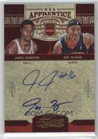 James Johnson, Jeff Teague /25